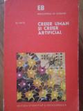 Creier Uman Si Creier Artificial - Eli Katz ,303417