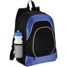 Rucsac Tableta, Everestus, BN, 600D poliester si ripstop, negru, albastru, saculet de calatorie si eticheta bagaj incluse