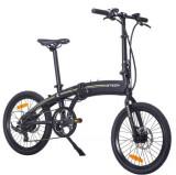 Cumpara ieftin Bicicleta electrica cadru aluminiu Pliabila motor 250W Baterii 36V 7,8Ah Li-ion ZT-74 FOLDING LITHIUM NEGRU
