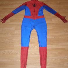 Costum carnaval serbare spiderman pentru adulti marime XL, Din imagine