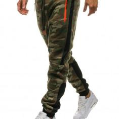 Pantaloni trening bărbați camuflaj-multicolor Bolf 3783B-A