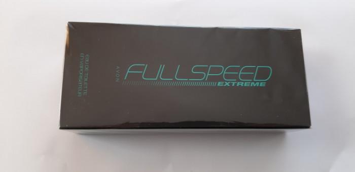 Apă de toaletă Full Speed Extreme - AVON ,75 ml ,SIGILAT .