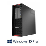 Workstation Refurbished Lenovo ThinkStation P500, E5-2678 v3, 64GB, Quadro 5000, Win 10 Pro