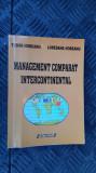 Management comparat intercontinental - HOBEANU