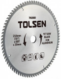 Disc circular cu vidia pentru aluminiu 254x30x80T