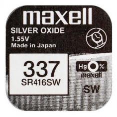 Baterie de ceas Maxell V337 SR416 1.55V 1 Bucata /Set