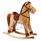 Balansoar pentru copii, model calut, 65x50cm, maro