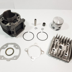 Kit Cilindru - Set Motor + Chiuloasa Scuter Italjet Pista 80cc RACIRE AER