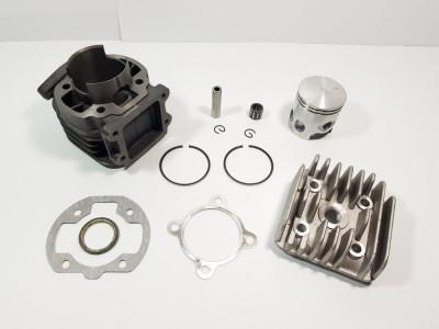 Kit Cilindru - Set Motor + Chiuloasa Scuter Yamaha Mbk Booster - Buster 80cc AER foto