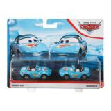 Cars 3 Set 2 Masinute Metalice Dinoco Mia Si Dinoco Tia, Mattel