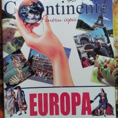 Atlas geografic Carti Povesti pentru copii EUROPA AFRICA