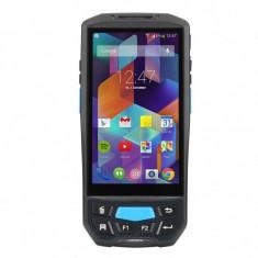 Cititor coduri de bare 1D Android 7.0, 2 GB RAM, slot TF, 3 slot-uri SIM, touchscreen