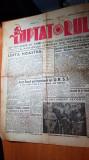 ziarul luptatorul 6 septembrie 1944-anul 1,nr. 1-art. despre 23 august,hitler