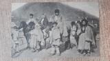 Hunedoara - Orăștie, familii de ciobani.