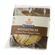 Prajitura cu Crema Fina de Nuca Bio 140gr Hammer Muhle Cod: HM800116