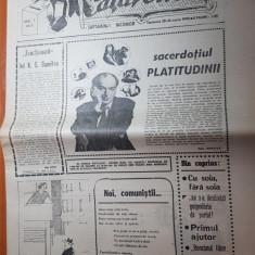 ziarul catavencu anul 1,nr.5/1990 din 20-26 martie