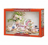 Cumpara ieftin Puzzle Still Life with Porcelain and Flowers, 500 piese, castorland