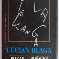 Poezii/Poesies (editie bilingva romano-franceza) – Lucian Blaga