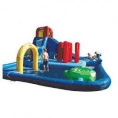 Little Tikes - Spatiu de joaca gonflabil cu tobogane de apa