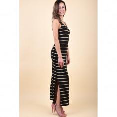 Rochie Only Monica Maxi Black/Stripe