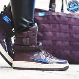 Ghete ORIGINALE  100% Nike  SF AF1 AIR FORCE 1 SE PRM    nr 37.5;39