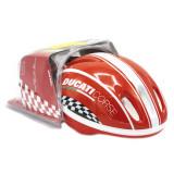 Casca protectie copii cu genunchere si sonerie pentru biciceleta sau role Ducati 53 56 cm