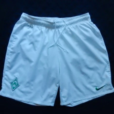 Pantaloni scurti Nike Dri Fit Werder; Marime XL, vezi dimensiuni exacte, Din imagine