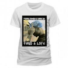 2PAC Shakur S Finger wht (tricou) foto