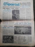 Ziarul Sportul din 28 aprilie 1975