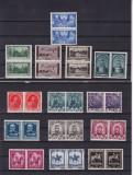ROMANIA 1938  LP 128  CENTENARUL  NASTERII  REGELUI CAROL I  PERECHE SERII  MNH