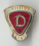 Insigna veche FOTBAL  - DINAMO 1959