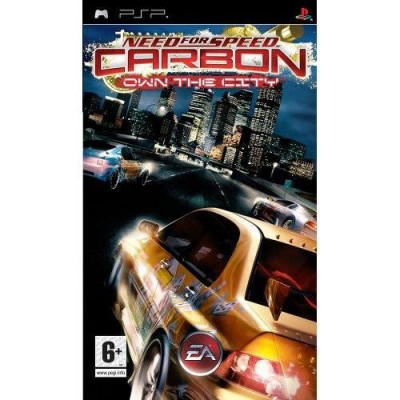 Need for Speed Carbon: Own The City PSP foto