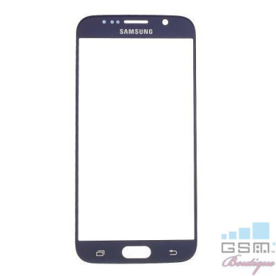 Geam Samsung Galaxy S6 G920 Albastru Inchis foto