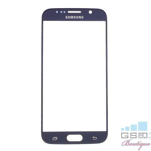 Geam Samsung Galaxy S6 G920 Albastru Inchis