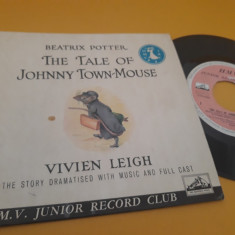 VINIL BEATRIX POTTER-THE TALE OF JOHNNY TOWN-MOUSE 1960  DISC STARE FB