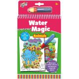 Carte de colorat cu apa - Animalute - Water Magic.