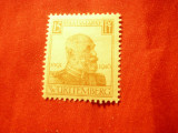Timbru Wurtemburg 1916 Regele Wilhelm II , 15 pf.sarniera, Nestampilat