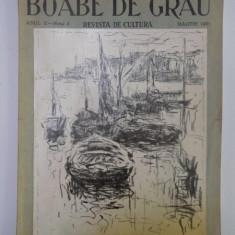BOABE DE GRAU. REVISTA DE CULTURA, ANUL II, NR. 3, MARTIE 1931
