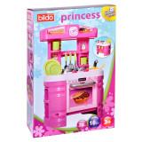 Set bucatarie pentru copii Princess Bildo, 72 cm, 16 accesorii