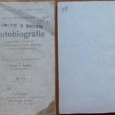 Mihail Kogalniceanu , Autobiografie ; BPT 117 , introducere de Petre Hanes ,1900