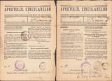 Z187 Lot 32 reviste 1937 biserica ortodoxa romana Apostolul Circularelor