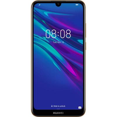Smartphone Huawei Y6 2019 32GB 2GB RAM Dual Sim 4G Amber Brown foto
