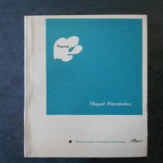 MIGUEL HERNANDEZ - POEME