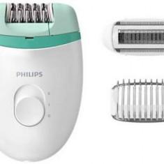 Epilator Philips BRE245/00, 2 viteze (Alb/Verde)