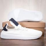 Pantofi sport barbati albi Garely
