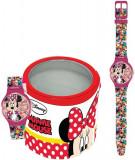 Cumpara ieftin Ceas Junior WALT DISNEY KID WATCH Model MINNIE - Tin Box 561974, cartoon