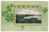 10072 - 5802 HAMBURG, Litho, Germany, Germania - old postcard - used - 1900, Circulata, Printata