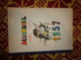 """Almanahul celor mici 1957 editat de revista 'luminita"""" 95pagini"""