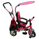 Tricicleta cu sezut reversibil Safari Break 360 Pink