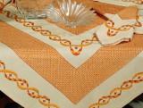 Set 5 piese decorative handmade Valentini Bianco BE01